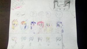 Victem Special The Mane 6 o-o by That-Paranoid-Zombie
