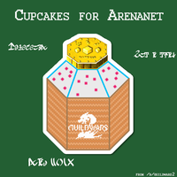Cupcakes for Arenanet by RandommUser