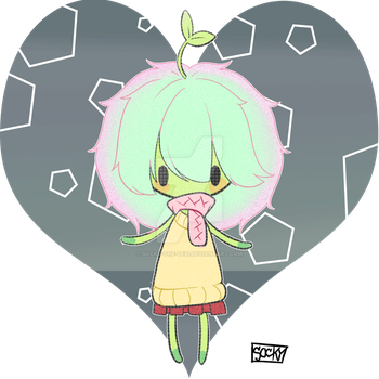 Seedling chibi [Hatched] by: JubiIee by Socky-the-Devi