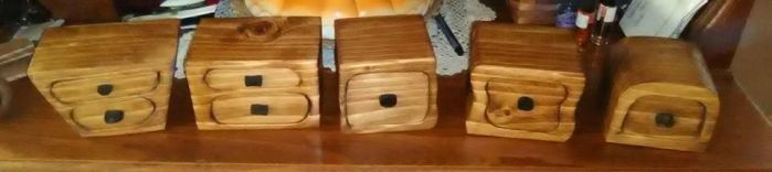 More Bandsaw Boxes by Des804