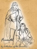 Friends: Fingon and Maedhros by EcthelionF