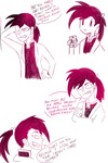 modern au featuring extra sassy greed by lemonTimewave