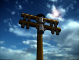 Telephone Pole - First Preview by VeggieB0i