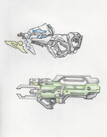Halo - UNSC Weapon Redesigns by ninboy01
