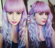 Pastel Hair by candypow