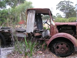 Old Rusty Truck 2 by stock-kitty