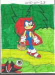 Sonic the Red Riding Hood by KatarinaTheCat