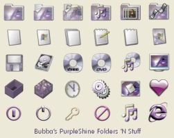 PurpleShine Folders 'N Stuff by strat4play