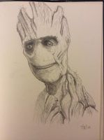 Daily Sketch - Groot by Snazz84