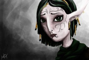 Merrill in Exile by abplafcan