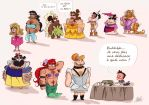 Princess Bears at Festiblog by princekido