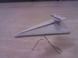 Imperial Star Destroyer by taerkitty