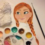 WIP Elsa and Anna by Jessica17
