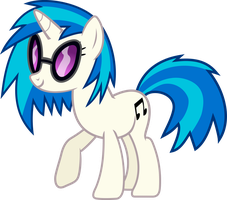 Vinyl Scratch (DJ-PON3) by uxyd