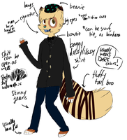 Doe Anthro Ref by deerrs