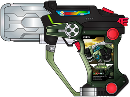 Premium Mecha Savior Gashat by netro32