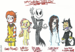 Characters' Doodle of the Day: Halloween Special 1 by FelixToonimeFanX360