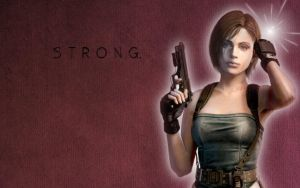 STRONG. by JillValentine98