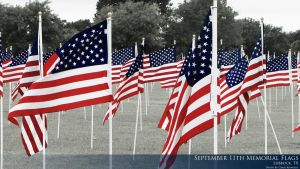 9_11 Memorial Flags by creynolds25