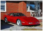 A Cool Red Corvette by TheMan268