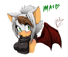 Mai the Foxbat :test: by V1ciouzMizzAzn