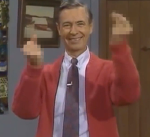 Mr Rogers Censored by Agent-Spiff