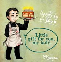 Crowley - Happy Birthday Izu by Sadyna
