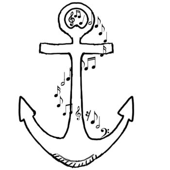 Anchor Tattoo Design by Jmike31