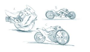 Cycle Designs by ComicMunky