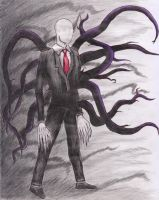 The Slender-man by The-worst-art