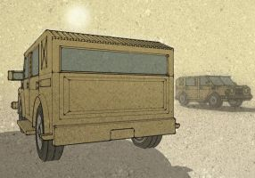 Land Rover Truck by scamble