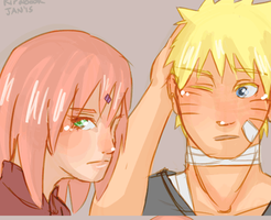 NaruSaku: The Confession by Kirabook