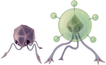 Pathogem and Mega Pathogem by Quanyails