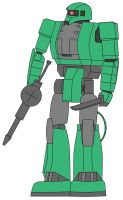 MS-06LA Zaku II Light Armor Type by DaiGuard78