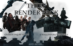 Thief Render Pack by Solar11pro