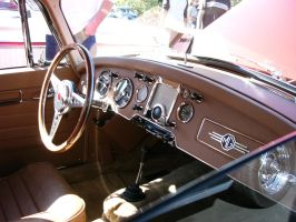 1961 MGA Coupe interior by RoadTripDog