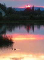 Sunrise in Fairbanks by REMDreamphoto