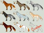 Fox Adopts Batch 1 :OPEN: by BendustKas
