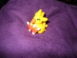 Chocobo Miniature by Sakura-Ikayuro
