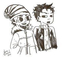 Scott Pilgrim: Wallace Scott by AnimeJanice