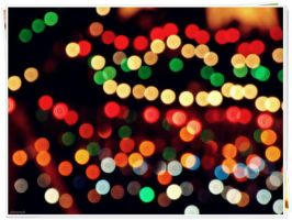 Christmas Bokeh by jabberjay00