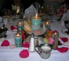 Florida Wedding Table Setting by dkimber