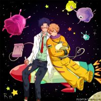 Boyfriends in Space (Reigisa) by point0k