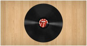 Realistic Vinyl Record by PsdChat