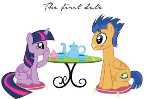 Twilight and Flash Sentry First Date by MissVivi72