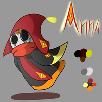Anna - Eveston Character Ref by GenoTheCreeper