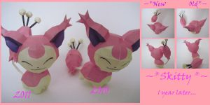 1 Year Later- Skitty Revisited by PrincessStacie