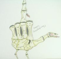 BleuDeLoup's Hand Turkey by H4WII