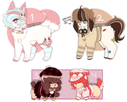 + Cute Adopts Auction CLOSED + by kittencity
