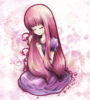 Princess Bubblegum by Sugarflu